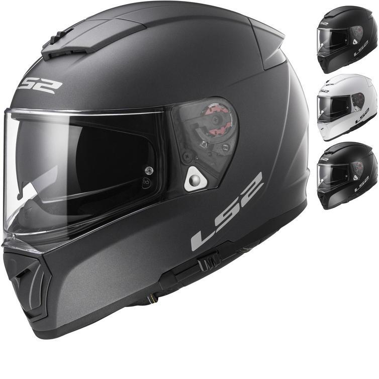 LS2 FF390 Breaker Solid Motorcycle Helmet