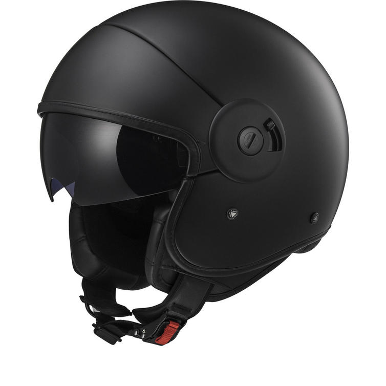 LS2 OF597 Cabrio Full Open Face Motorcycle Helmet