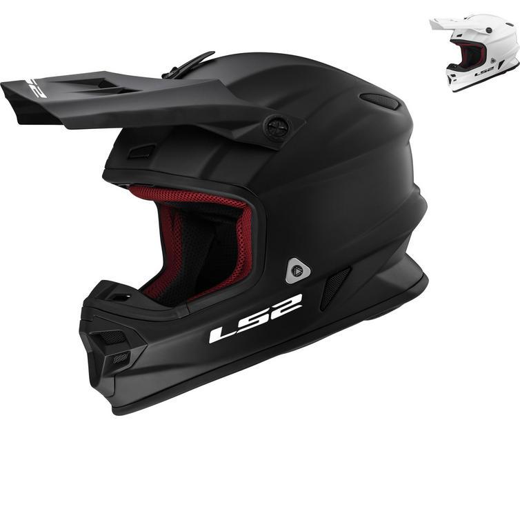 LS2 MX456 Light Evo Solid Motocross Helmet
