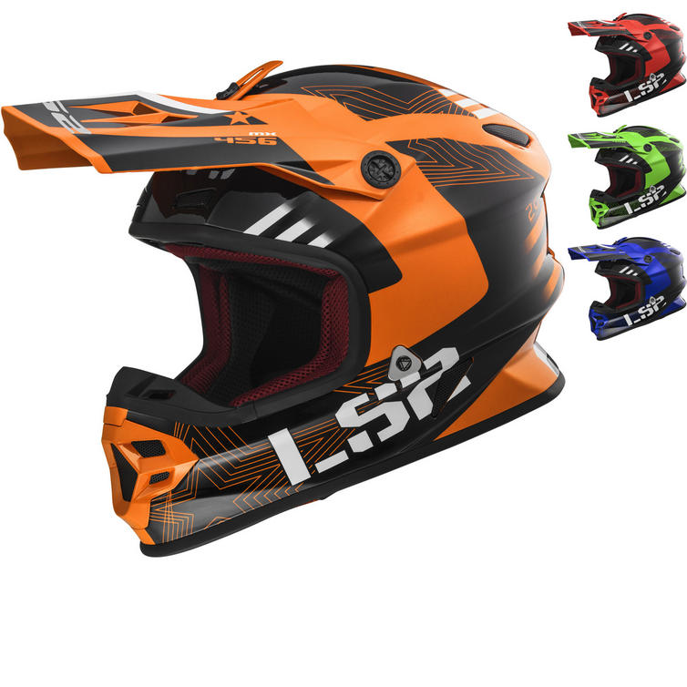 LS2 MX456 Light Evo Rallie Motocross Helmet