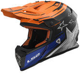 LS2 MX437 Fast Core Motocross Helmet