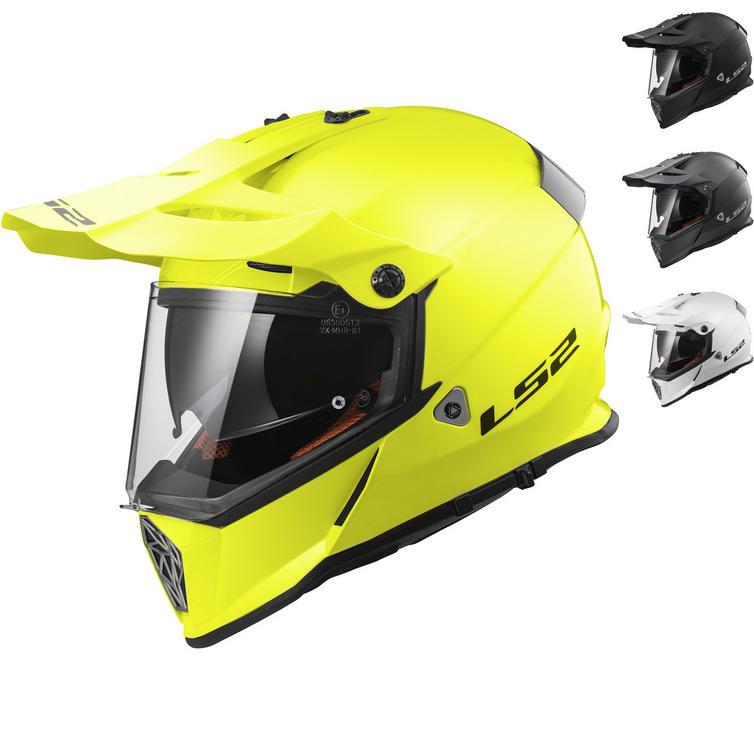 LS2 MX436 Pioneer Solid Dual Sport Helmet