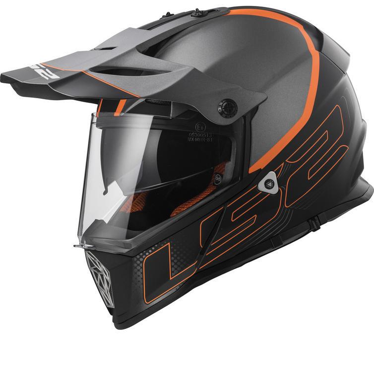 LS2 MX436 Pioneer Element Dual Sport Helmet