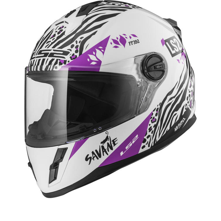LS2 FF392J Kid Savane Youth Motorcycle Helmet