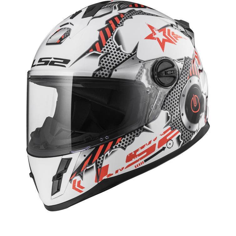 LS2 FF392J Kid Machine Youth Motorcycle Helmet