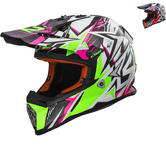 LS2 MX437J Fast Mini Strong Youth Motocross Helmet