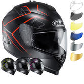 HJC IS-17 Lank Motorcycle Helmet & Visor