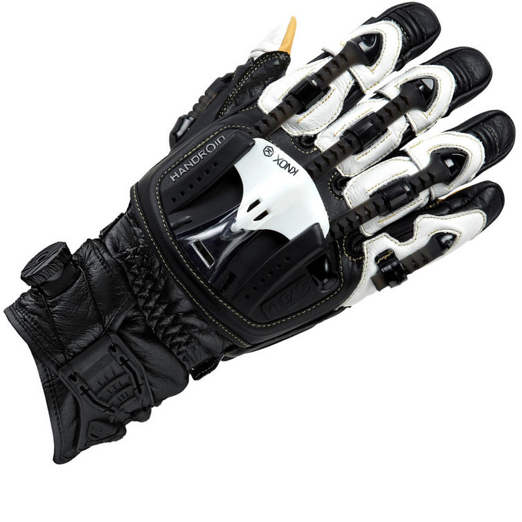 Knox Handroid Pod MkIII Leather Motorcycle Gloves