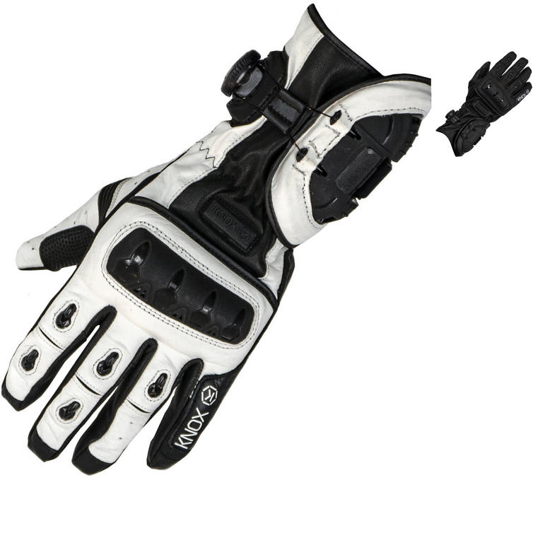 Knox Nexos Leather Motorcycle Gloves