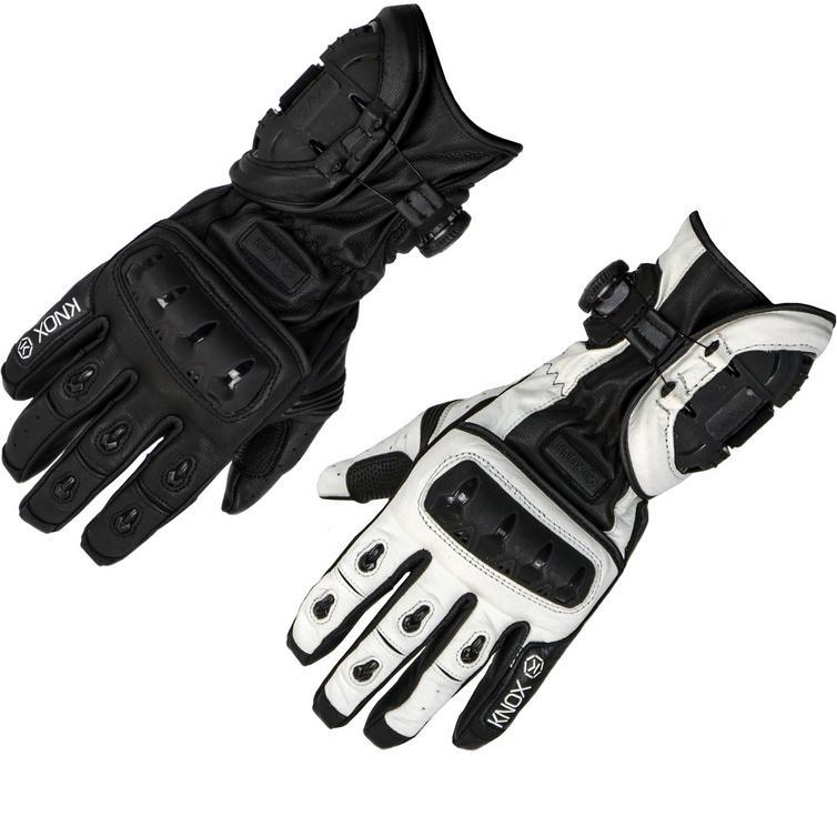 Knox Nexos Leather Motorcycle Gloves