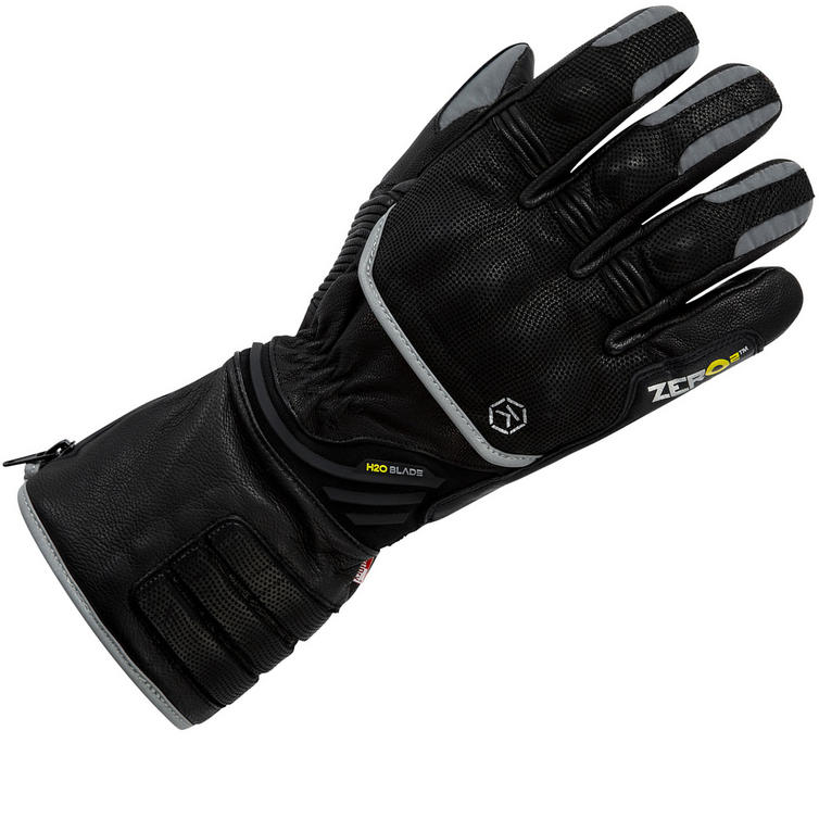 Knox Zero 2 Winter Leather Motorcycle Gloves