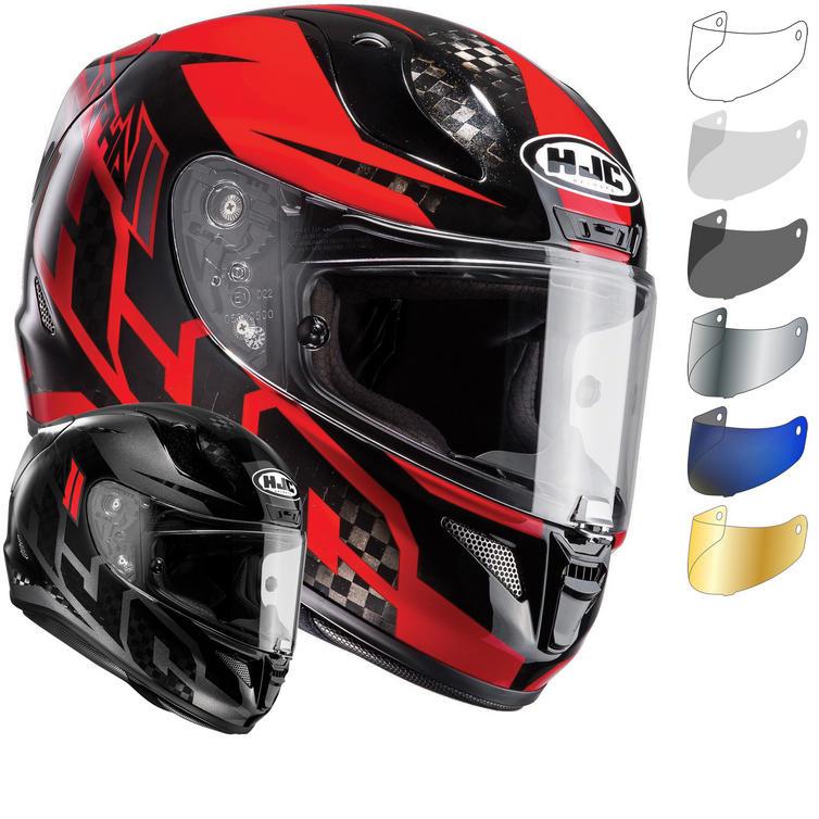 HJC RPHA 11 Lowin Carbon Motorcycle Helmet & Visor