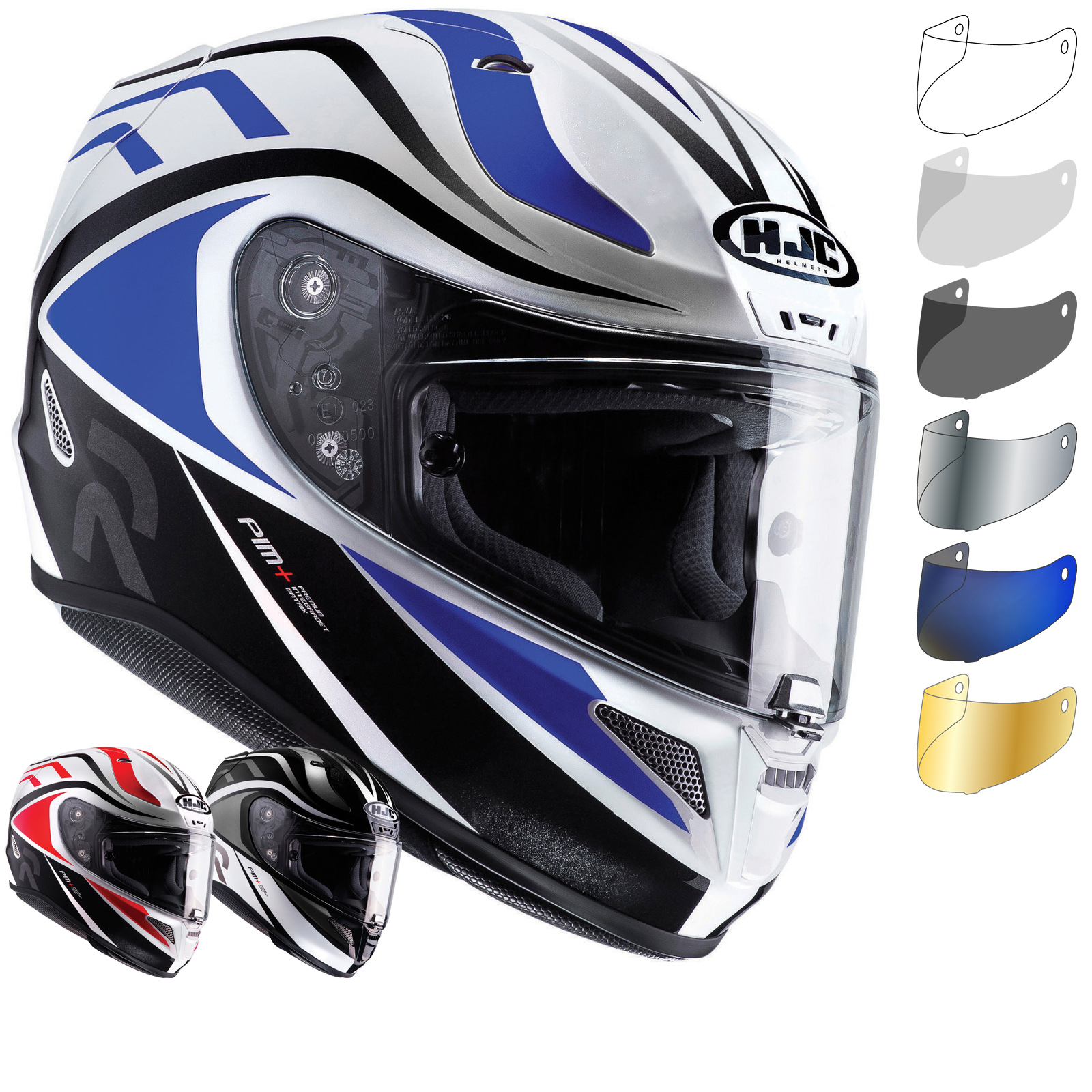 hjc rpha 11 vermo motorcycle helmet visor full face helmets. Black Bedroom Furniture Sets. Home Design Ideas