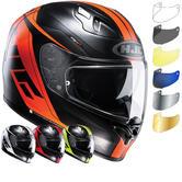 HJC FG-ST Crono Motorcycle Helmet & Visor