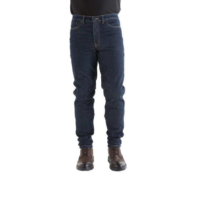 Knox Spencer Slim Fit Blue Motorcycle Jeans