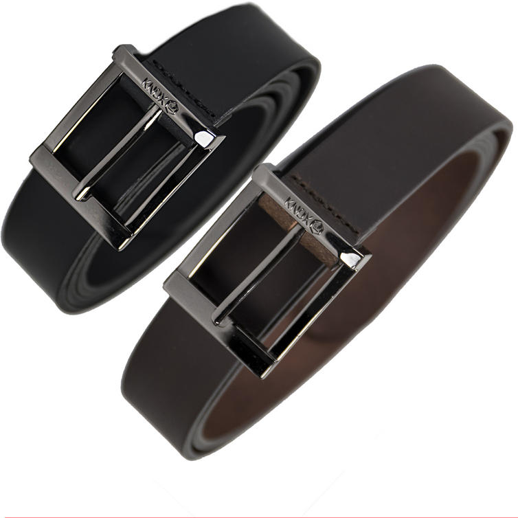 Knox Mens Leather Casual Belt