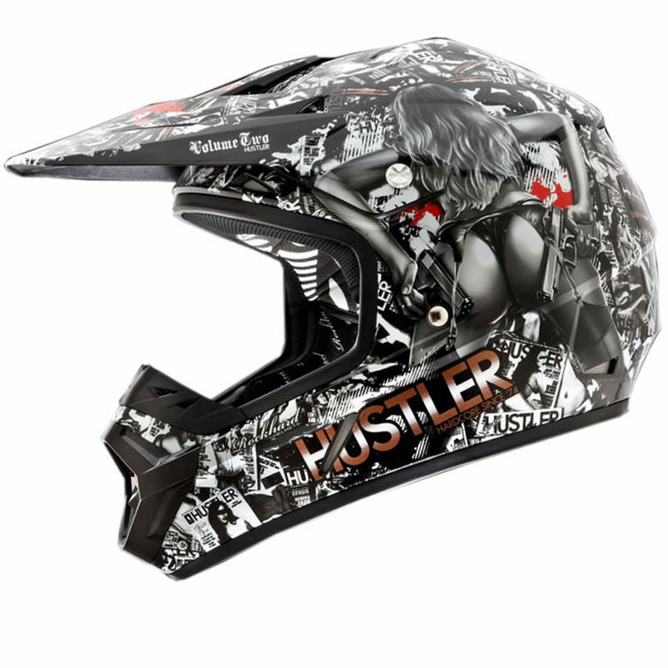 oneal rockhard 2 hustler limited edition motocross helmet. Black Bedroom Furniture Sets. Home Design Ideas