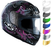 HJC CL-Y Tableau Ladies Motorcycle Helmet & Visor