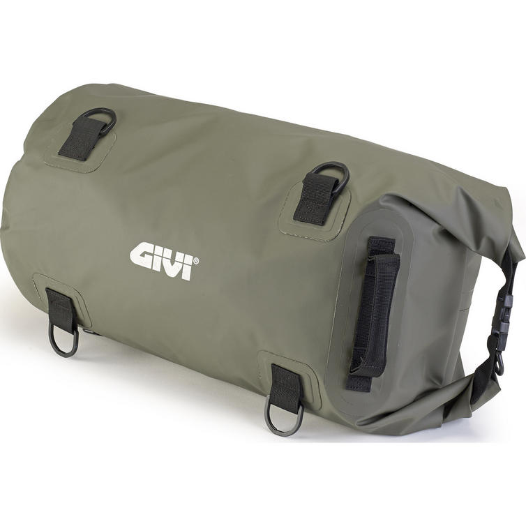 Givi Easy-T Range Waterproof Cylinder Seat Bag 30L Kaki Green (EA114KG)