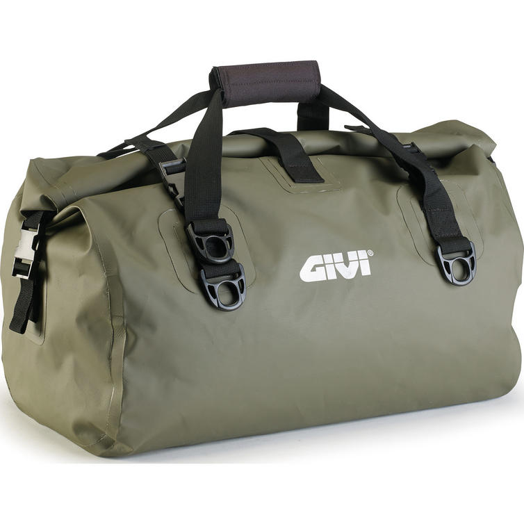Givi Easy-T Range Waterproof Cylinder Seat Bag 40L Kaki Green (EA115KG)