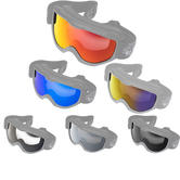 Black Granite Motocross Goggle Lens