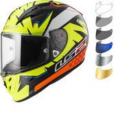 LS2 FF323 Arrow R Evo Volt Motorcycle Helmet & Visor