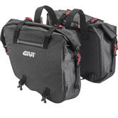 Givi Gravel-T Range Waterproof Side Bags 15+15L Black (GRT708)