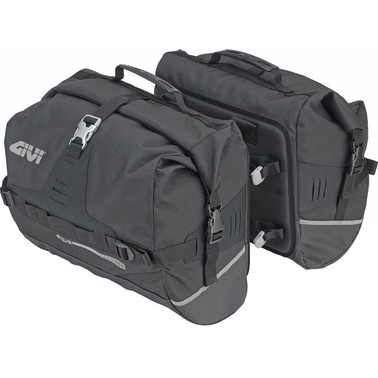 Givi Ultima-T Range Waterproof Side Bags 25+25L Black (UT808)