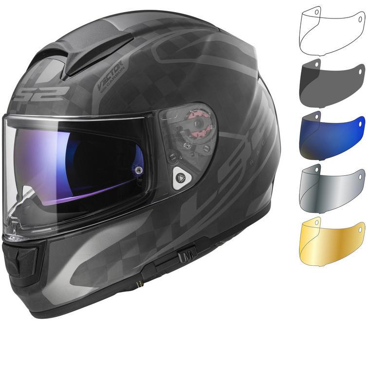 LS2 FF397 Vector C Class Motorcycle Helmet & Visor