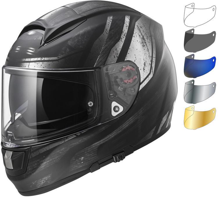 LS2 FF397 Vector Razor Motorcycle Helmet & Visor