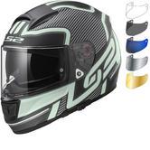 LS2 FF397 Vector Orion Motorcycle Helmet & Visor