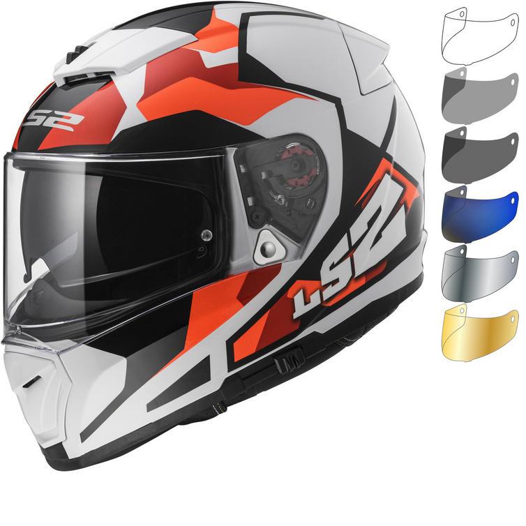 LS2 FF390 Breaker Sergent Motorcycle Helmet & Visor