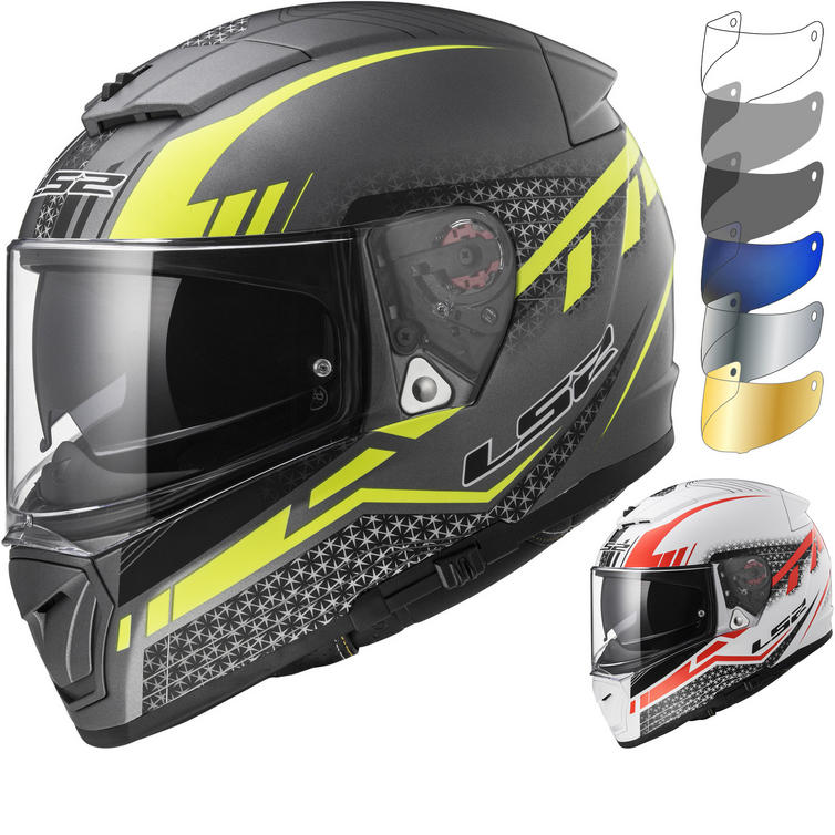 LS2 FF390 Breaker Split Motorcycle Helmet & Visor