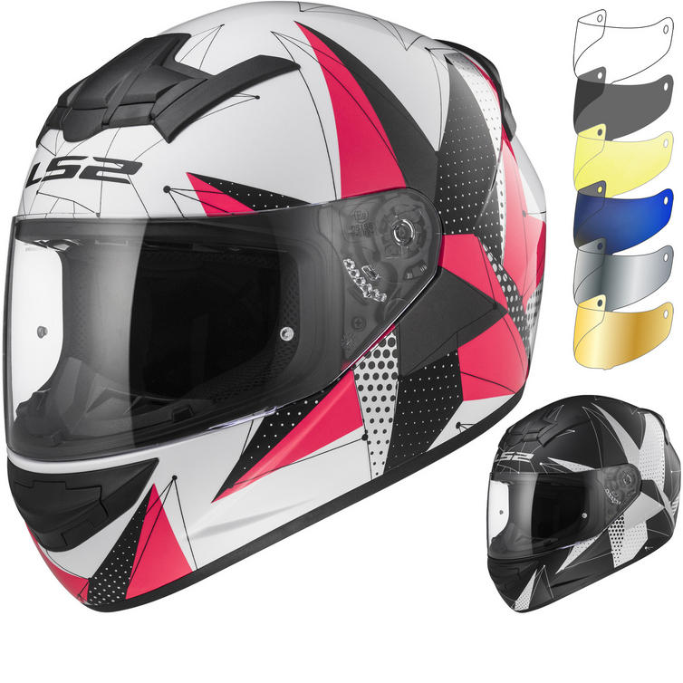 LS2 FF352 Rookie Brilliant Motorcycle Helmet & Visor