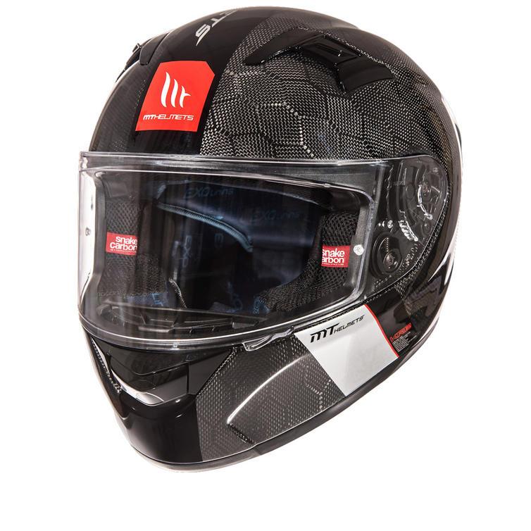 MT KRE Snake Carbon Motorcycle Helmet