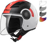 LS2 OF562 Airflow L Condor Open Face Motorcycle Helmet & Visor