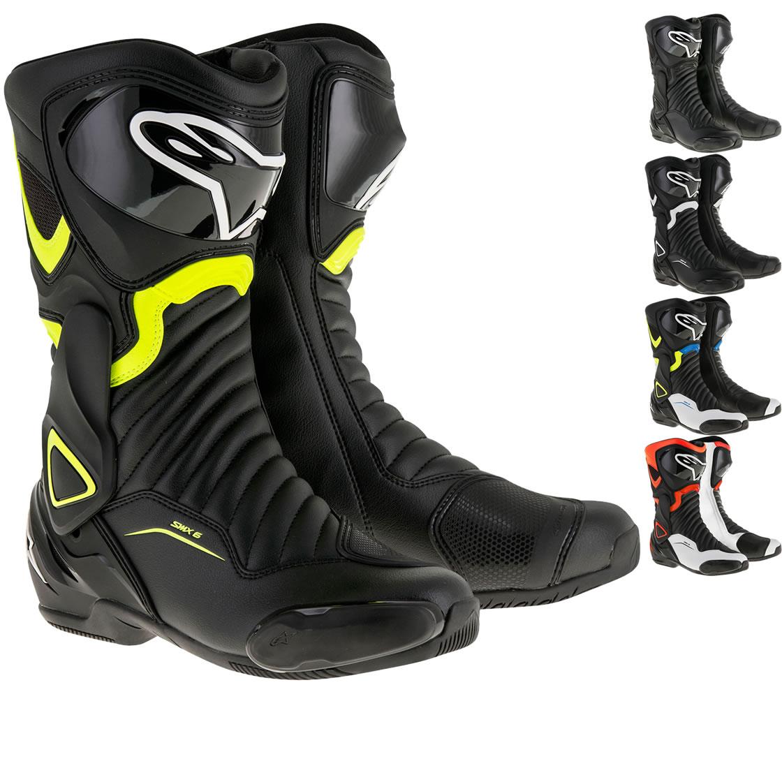 alpinestars smx 6 v2 motorcycle boots new arrivals. Black Bedroom Furniture Sets. Home Design Ideas
