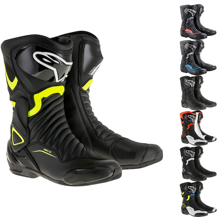 Alpinestars SMX-6 v2 CE Motorcycle Boots