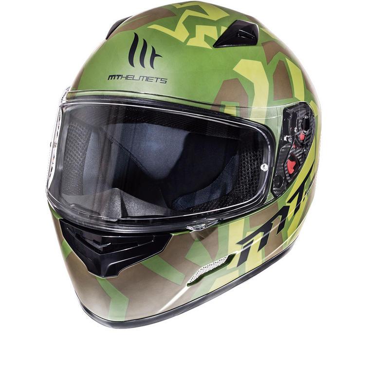 MT Mugello Leopard Motorcycle Helmet