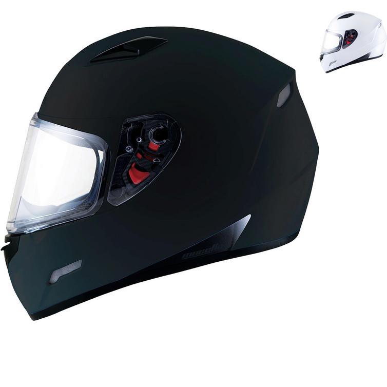 MT Mugello Solid Motorcycle Helmet