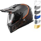 LS2 MX436 Pioneer Element Dual Sport Helmet & Visor