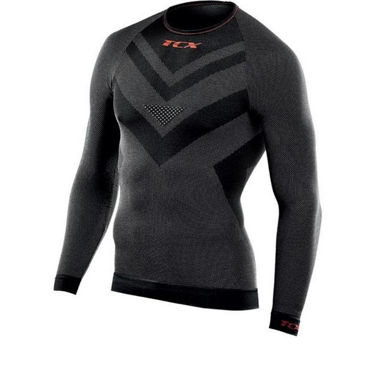 TCX All Season Roundneck Long Sleeve Motorcycle Base Layer Shirt