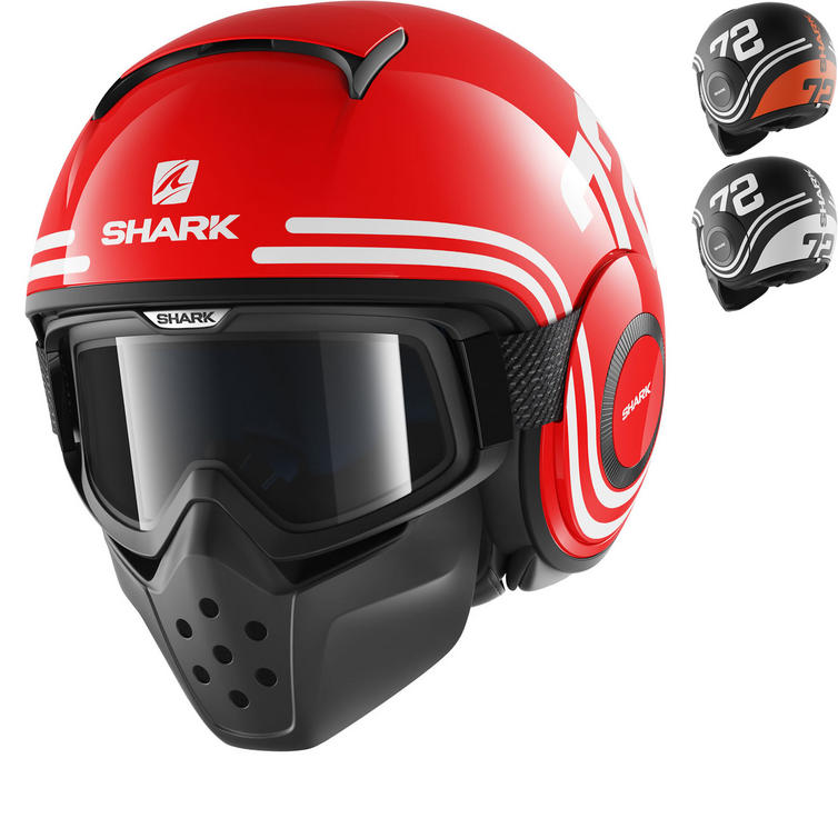 Shark Drak 72 Open Face Motorcycle Helmet