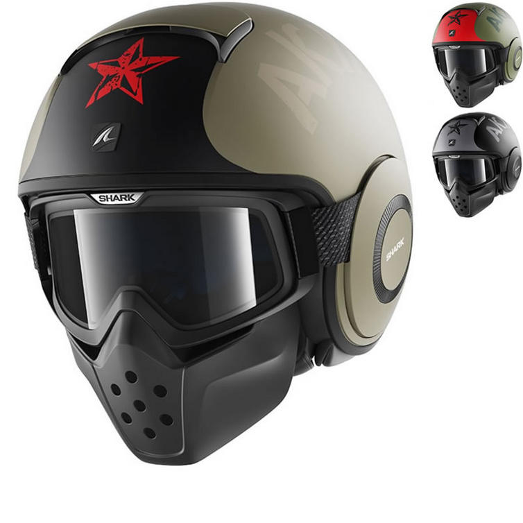 Shark Drak Soyouz Open Face Motorcycle Helmet