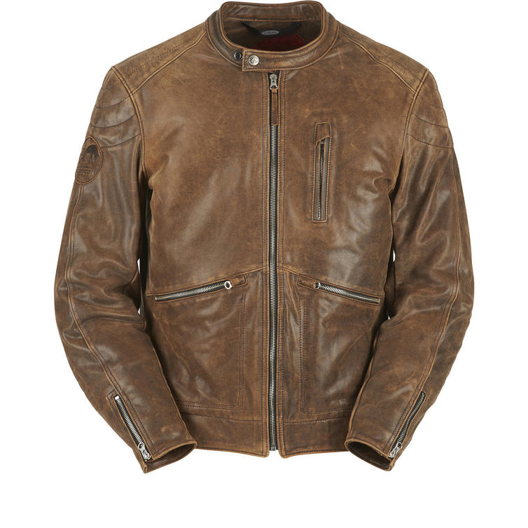 Furygan Coburn Leather Motorcycle Jacket