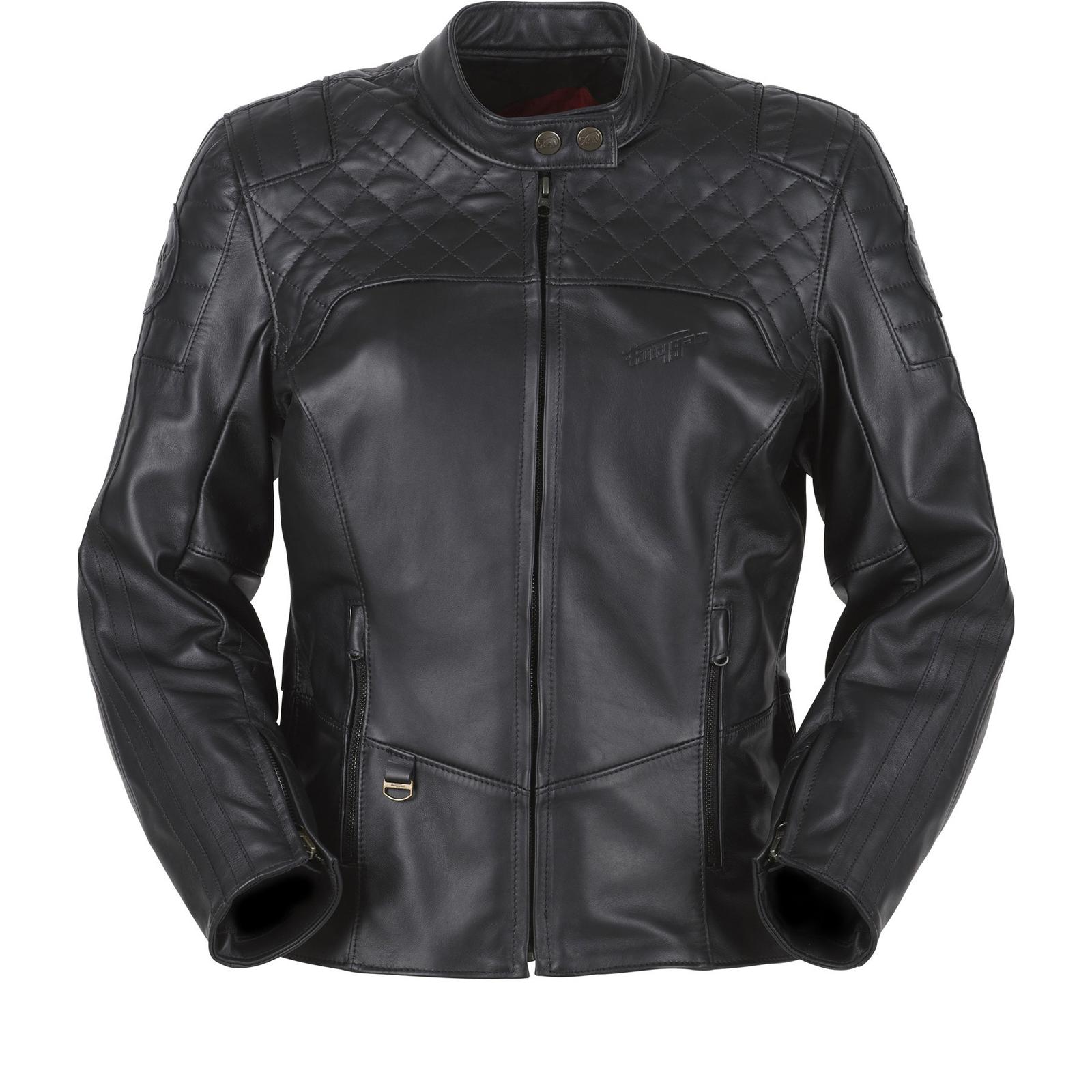 Furygan Legend Ladies Leather Motorcycle Jacket
