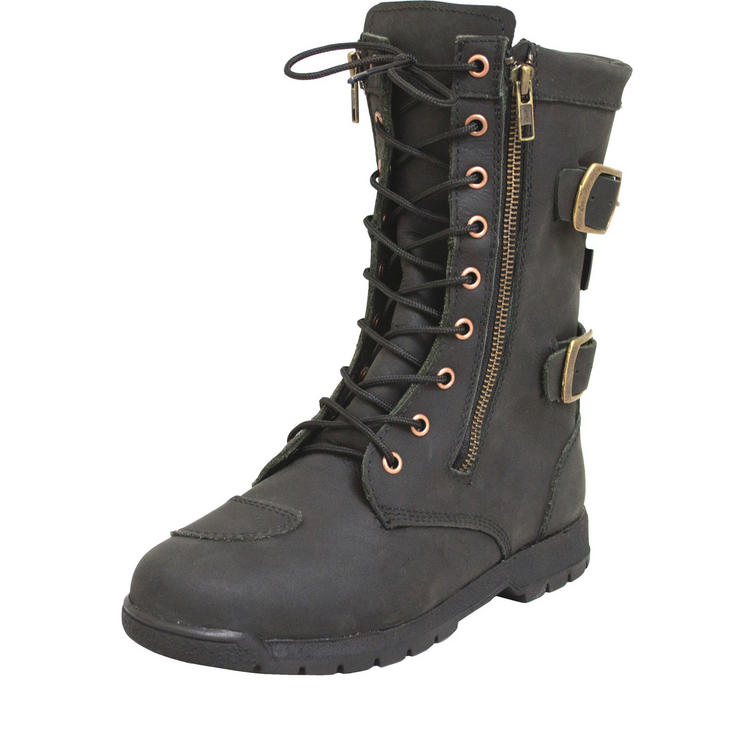 ARMR Moto Tara Ladies Leather Motorcycle Boots