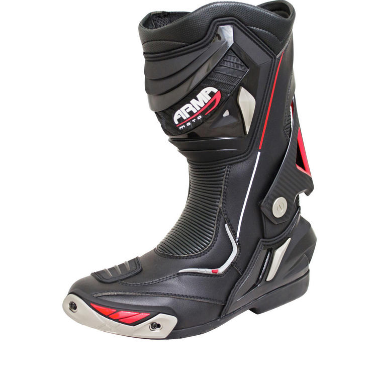 ARMR Moto Harada R Leather Motorcycle Boots