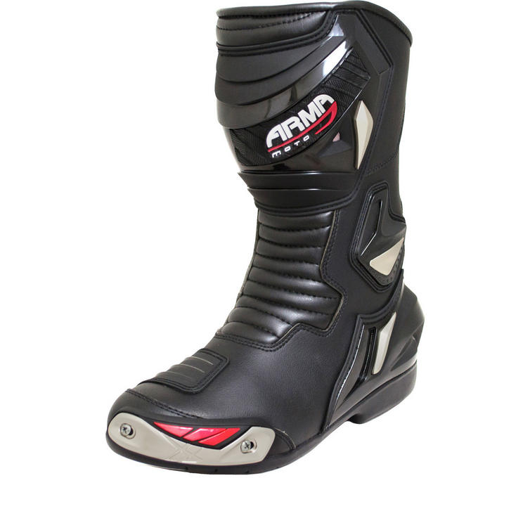 ARMR Moto Harada WP Leather Motorcycle Boots