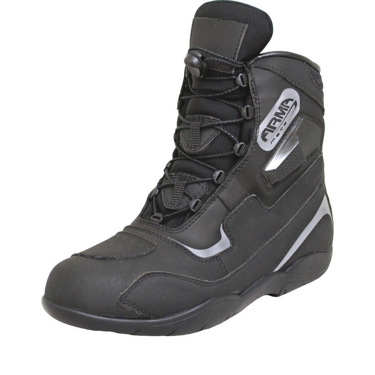 ARMR Moto Kanjo Leather Motorcycle Boots